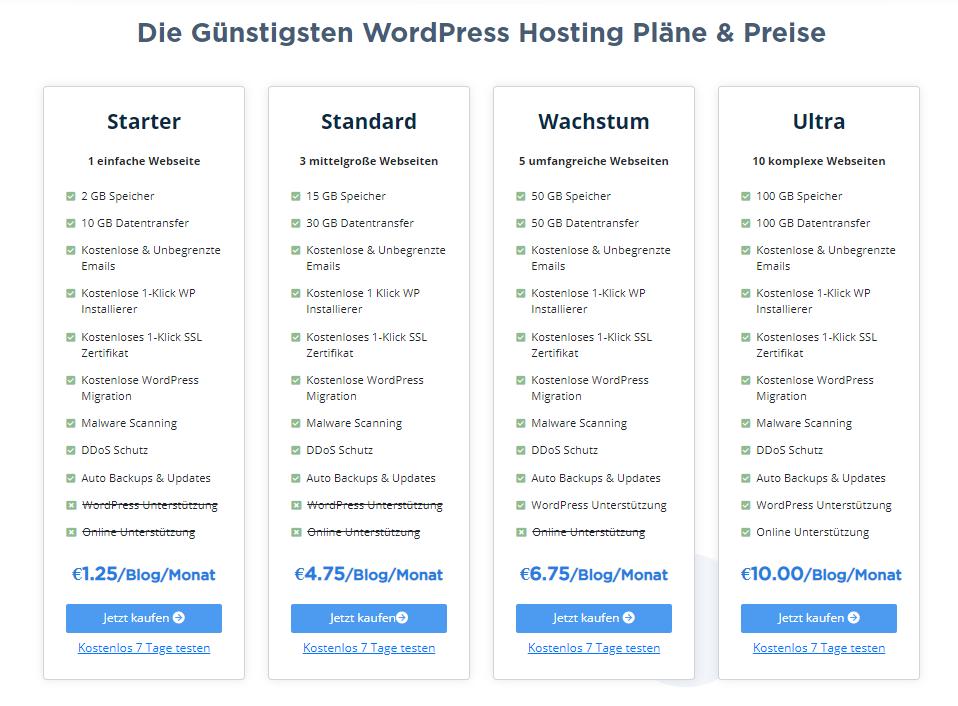 seekahost-wordpress-hosting-plaene